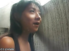 Asian, Babe, Blowjob, Cumshot, Masturbation