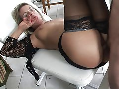 MILF, Blowjob, Blonde, Facial