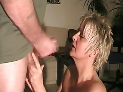 Amateur, Blowjob, Facial, German, MILF