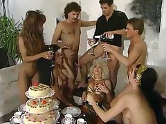 German, Group Sex, Vintage