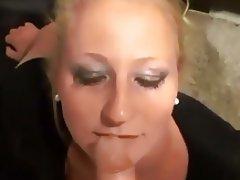 Amateur, Blonde, Cumshot, Facial