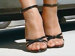 Amateur, Close Up, Foot Fetish, Pantyhose