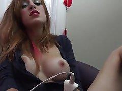 Amateur, Masturbation, Webcam