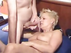 Blonde, Double Penetration, Mature, Threesome