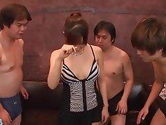 Asian, Facial, Group Sex, Japanese, Rough