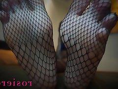 Foot Fetish, Mistress, POV, Stockings