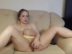 BBW, Big Boobs, Masturbation, Webcam