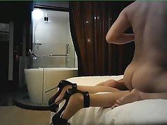 Amateur, Chinese, Foot Fetish, High Heels, Pantyhose