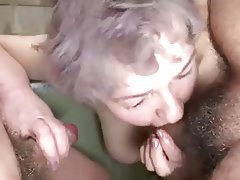 Big Boobs, Granny, Group Sex, Mature, Old and Young