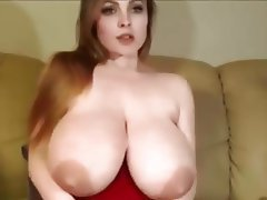 Big Boobs, Dildo, Saggy Tits, Webcam, Big Tits