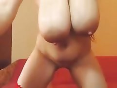 Masturbation, Saggy Tits, Webcam, Big Tits