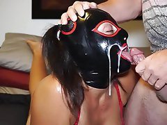 Amateur, BDSM, Cum in mouth, Latex, BDSM