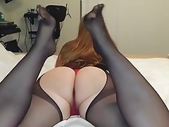 Amateur, Pantyhose, Pantyhose, Stockings