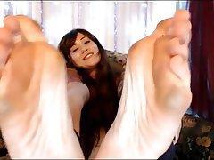 Amateur, Foot Fetish, Webcam