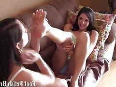 BDSM, Femdom, Foot Fetish, Interracial, Lesbian