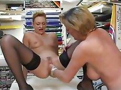 Anal, Lesbian, Mature, French