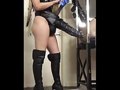 Anal, Stockings, Strapon, Mistress
