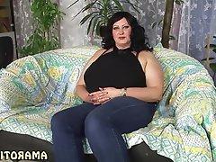 Brunette, Nipples, MILF, Big Butts