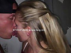 Amateur, Blonde, Mature, Kissing