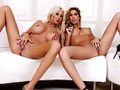 Blonde, Lesbian, Big Boobs, Big Butts