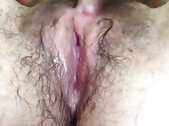 Amateur, Close Up, Hairy, Masturbation