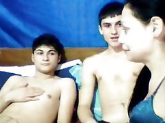 Amateur, Threesome, Webcam