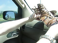 Foot Fetish, Masturbation, MILF
