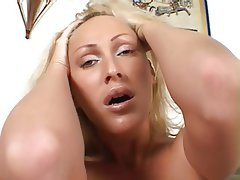 Anal, Blonde, Double Penetration, Interracial