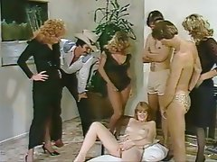 Blonde, Group Sex, Hairy, Vintage
