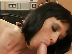 Big Boobs, Blowjob, Casting, Cumshot, French