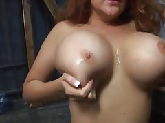 Big Boobs, Redhead