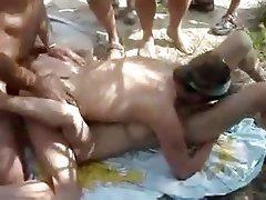 Amateur, Group Sex