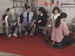 Blowjob, Creampie, Group Sex, Mature, Blonde