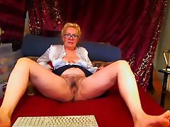 Mature, Hairy, Webcam