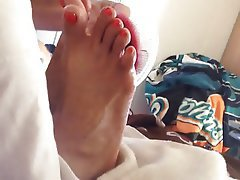 BBW, Foot Fetish, Interracial
