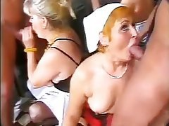 Granny, Group Sex, Mature, Old and Young