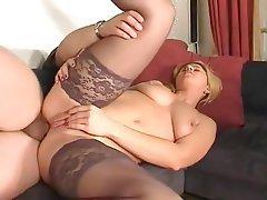 Anal, Blonde, Stockings