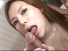 Asian, Blowjob, Creampie, Group Sex, Japanese