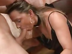 Anal, French, Hardcore, Lingerie, MILF