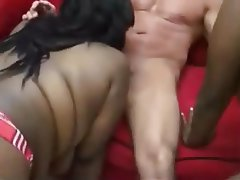 Amateur, BBW, POV, Threesome